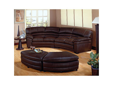CAP Sectional and 2 Ottoman