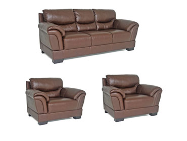 RIL Sofa and Two Chairs