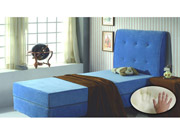 Full Blue Mattress
